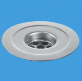 McAlpine Stainless Steel 113mm Reducing Sink Flange - 39000018